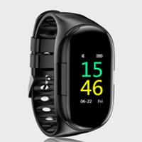 T88 Newest 2 In 1 AI Smart Watch With Bluetooth Earphone Heart Rate Monitor Smart Wristband Long Time Standby Sports Watch Men|Smart Watches| |  -