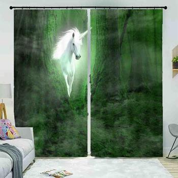 Customize 3D Window Curtain animal Blackout Curtains For Window High Quality Cortinas Para la Sala Home Decor