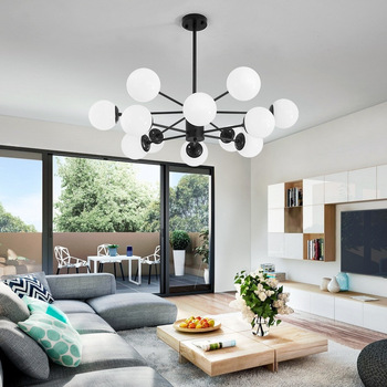 Chandelier Lighting Modern Home Decoration Ceiling Nordic LED Chandelier Bedroom Living Room Indoor Chandeliers Restaurant Light modern black chandelier lighting for living room bedroom wedding decoration chandeliers lamp hanging suspension modern lighting
