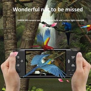 Image 5 - Gra wideo konsola do gier X6 na PSP gra ręczna gra Retro 4.3 calowy ekran odtwarzacz Mp4 odtwarzacz gier wsparcie kamera wideo E book