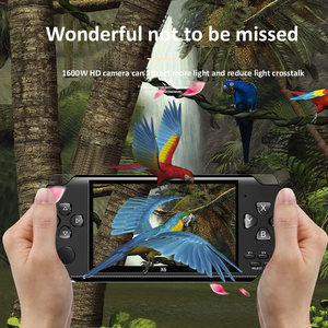 Image 5 - Video Game Console Player X6 for PSP Game Handheld Retro Game 4.3 inch Screen Mp4 Player Game Player Support Camera Video E book