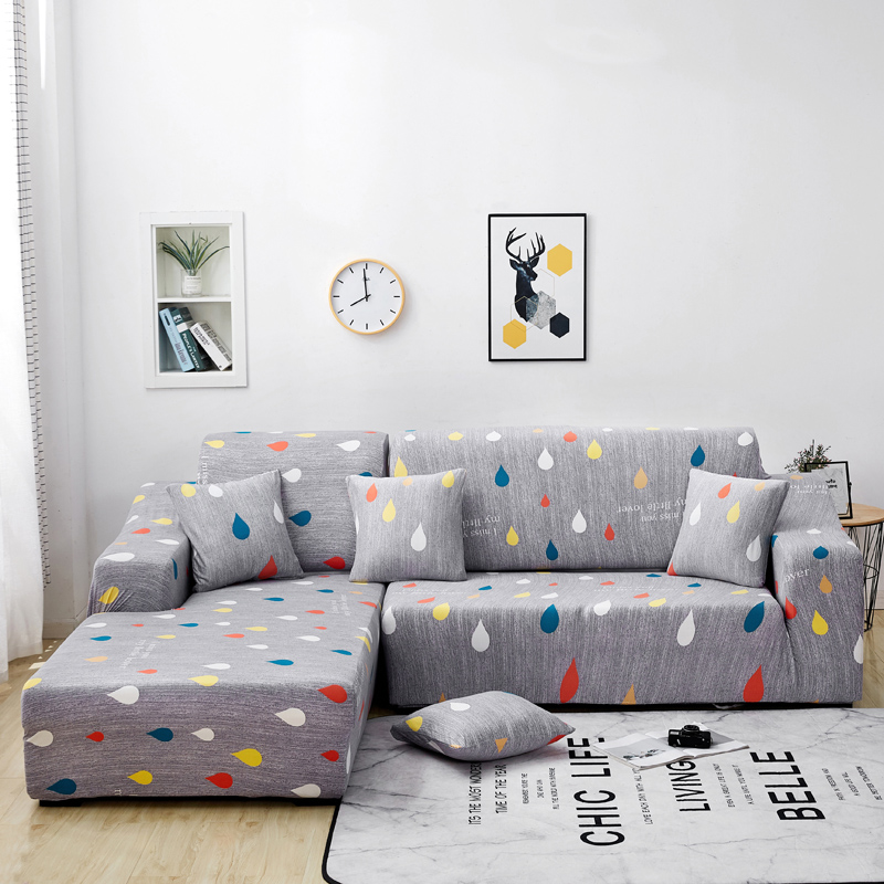 2 Pcs Covers For L Shaped Sofa Cover