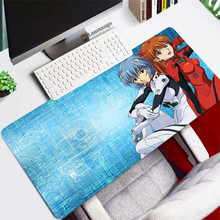 Evangelion Mousepad HD Pattern Office Desk Padmouse Anime Keyboard Computer Large XXL 900x400MM Mouse Pad