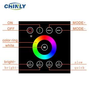 Image 4 - 32 واط RGBW 2.4 جرام اللاسلكية الجدار التبديل اللمس تحكم LED الألياف البصرية محرك سائق لجميع أنواع الألياف الضوئية مجموعة