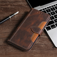 Leather Flip Case For Samsung Galaxy A6 2018 A6 Plus Wallet Stand Flip Phone Case For Funda Samsung A6 S A6S Fundas A6 2018