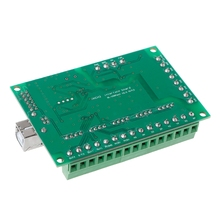 CNC USB MACH3 100Khz Breakout Board 5 Axis Interface Driver Motion Controller  цена 2017