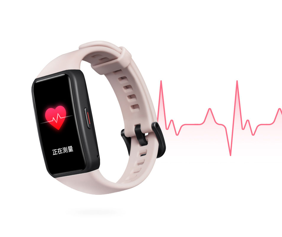 "Original Honor Band 6 SpO2 Smart Bracelet 1st Full Screen 1.47"" AMOLED Color Swim Heart Rate Female cycle management CN Version"