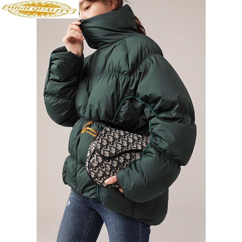 Women's Down Jacket Winter 90% White Duck Down Coat Puffer Jacket Plus Size Korean Womens Coats Winter A99558 KJ3875