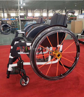 Factory Supply High Quality New Design Wheelchair Sport