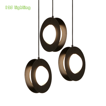 Foyer Hall LED Pendant Lamp Glass Ball New Style Bar Dining room LED Chandeliers Bedside Hanglamp Special Loft Lighting Fixture