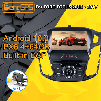 For FORD FOCUS Android Multimedia Radio 2012 - 2017 Car Autoradio DVD Player cassette recorder Head unit GPS Navigation Stereo image