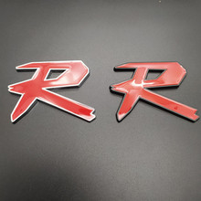 цена на 3D TYPER TYPE R Racing Emblem Badge Logo Decal Sticker Stickers TYPES TYPE S Metal Front Grill Grille Badge Emblem For HONDA KIA