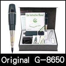 Darmowa wysyłka bateria oryginalna tajwan gigantyczne słońce G 8650 makijaż permanentny attoo maszyna profesjonalny pistolet do tatuażu G8650