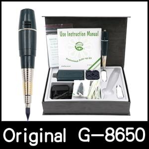 Image 1 - Ücretsiz kargo pil orijinal tayvan dev güneş G 8650 kalıcı makyaj makinesi attoo makinesi profesyonel G8650 dövme tabancası