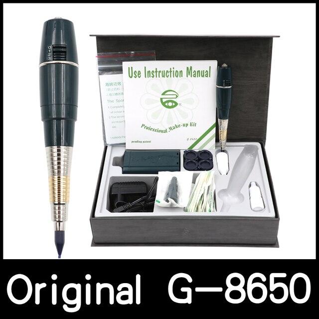 Ücretsiz kargo pil orijinal tayvan dev güneş G 8650 kalıcı makyaj makinesi attoo makinesi profesyonel G8650 dövme tabancası