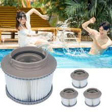 4PCs Gray Family Swimming Pool Inflatable Hot Tub Bath Water Filter Cartridge for MSPA #