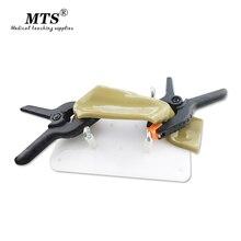 Modelo de entrenamiento de sutura Intestinal, modelo sutura Intestinal, soporte de Clip para cirugía laparoscópica, entrenamiento médico, ayuda para la práctica