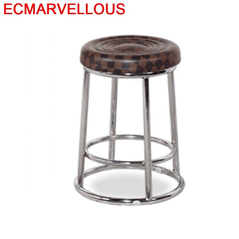 Sedia Barstool Sandalyeler Sedie Fauteuil Stoel Taburete Sandalyesi Bancos Moderno Cadeira Silla Tabouret De Moderne Bar Chair