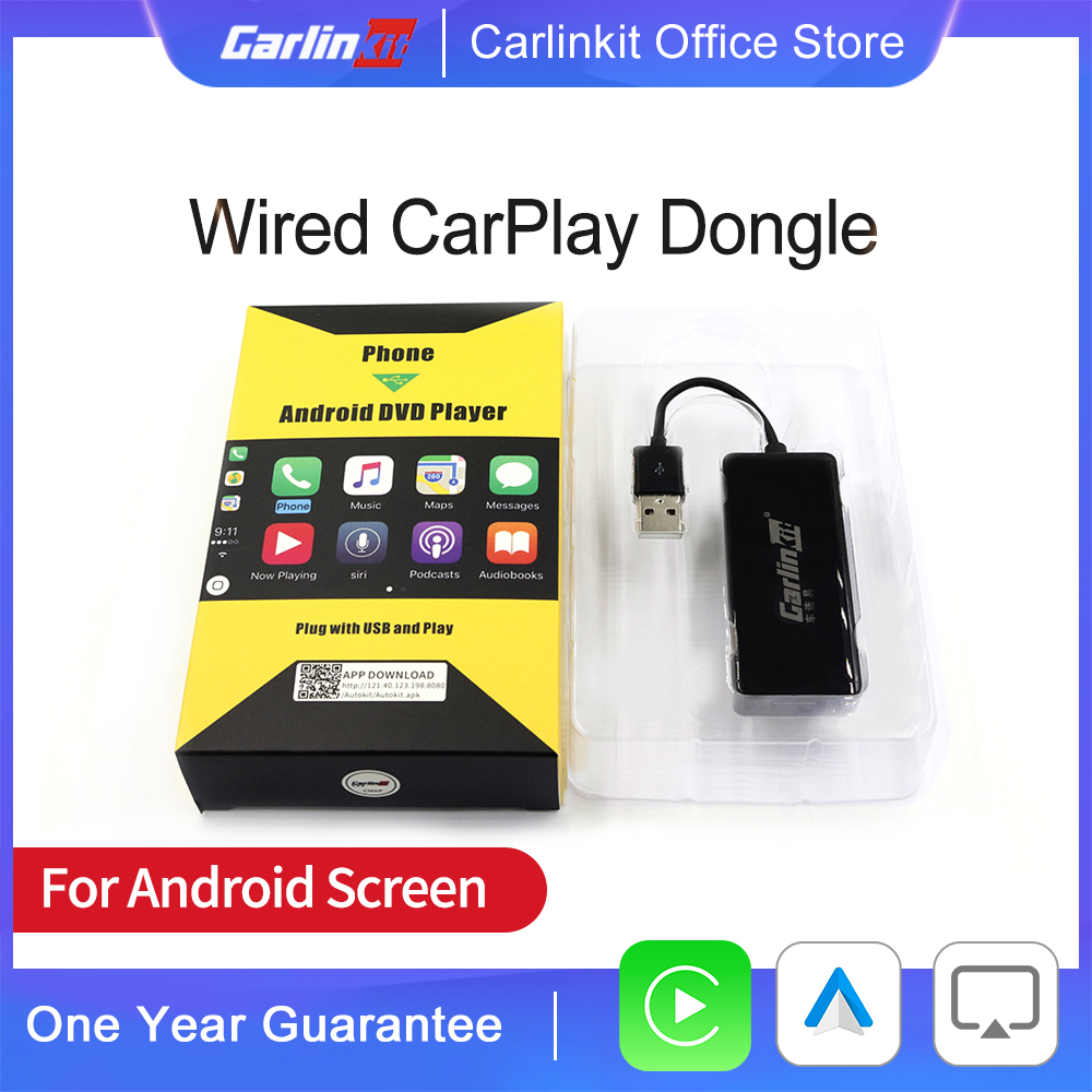 Carlinkit Wried CarPlay Smart Link Dongle for Android Auto Carplay for Android System Screen Carplay For Apple  Mirrorlink IOS14