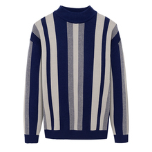 Men Clothing Sweaters Pullovers Knitted Men's Fashion O-Neck Casual Shirt Long-Sleeve