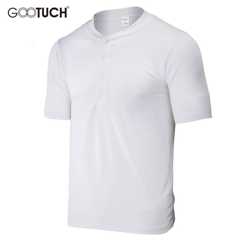 Men Undershirts Plus Size Man's Cotton Underwear Elastic Short Sleeve Vest Comfortable Cotton Undershirt With Button Mens 5037
