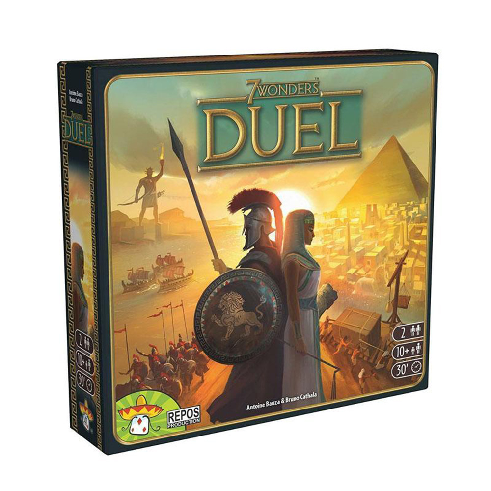 Hot Sale Board Game 7 Wonders Extension 7 Wonders Duel 2 Player Strategy Board Card Game English Version Game(China)