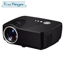 Мини портативный G90 проектор Full HD для домашних кинотеатров,LED телевизоров,видеоигр с разрешением 1080