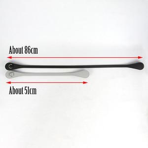 Image 3 - New 51cm 86cm Slim Handles Edge Painting D Buckle Teardrop End Faux Leather Handles for OBag Chain Pendant for EVA O Bag Body