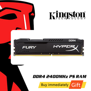 Original Kingston HyperX FURY 4GB 8GB 16GB Desktop Game RAM Memory DDR4 2400MHz CL15 DIMM 288-pin Internal Memoria For Gaming