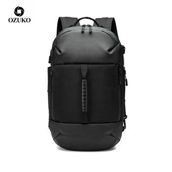 OZUKO 2020 Oxford Men Back Pack Laptop Bagpack Male Waterproof Large Capacity Backpacks Casual Travel Business Bags Rucksack
