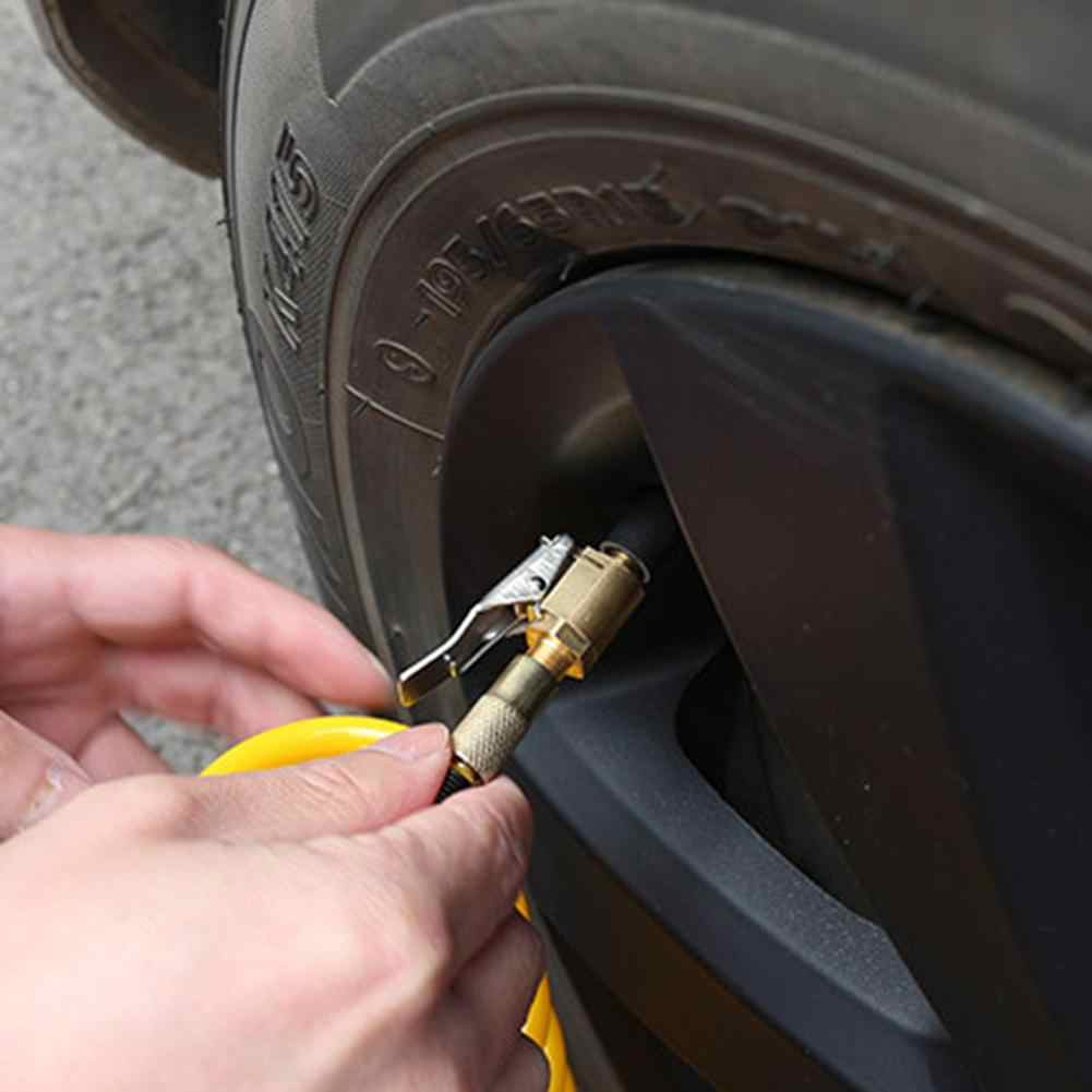 Mobil Pompa Udara Benang Nozzle Adaptor Mobil Pompa Cepat Konversi Kepala Jenis Klip Nozzle Adaptor untuk Pompa Bagian