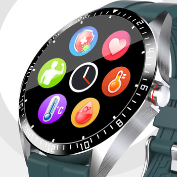 GW16 Smart Watch Temperature Heart Rate Blood Pressure Oxygen Monitor IP68 Sports Modes Weather Display bluetooth Smart Watch