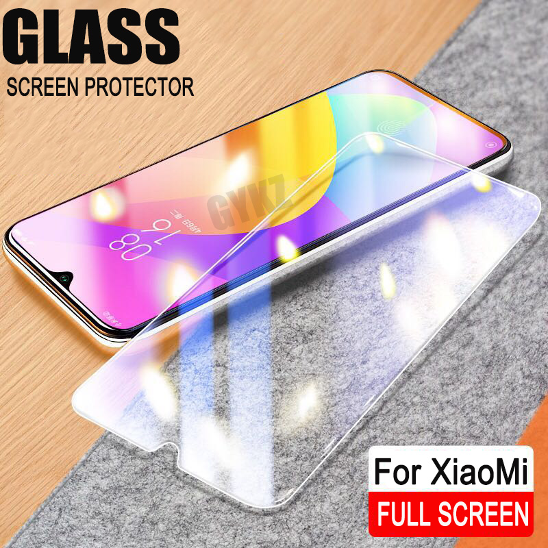 9H Full Screen Tempered Glass For XiaoMi Mi 9 Mi 9T CC9 Screen Protector Explosion-proof Tempered Glass For Xiao MI 9SE 9T Glass