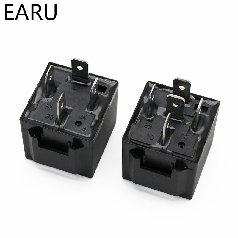 H2673cb651ff84167906f0d14c489e1ccN - 4 5 Pin 4P 5P 40A Waterproof Car Relay Long Life Automotive Relays Normally Open DC 12V/24V Relay For Head Light Air Conditioner