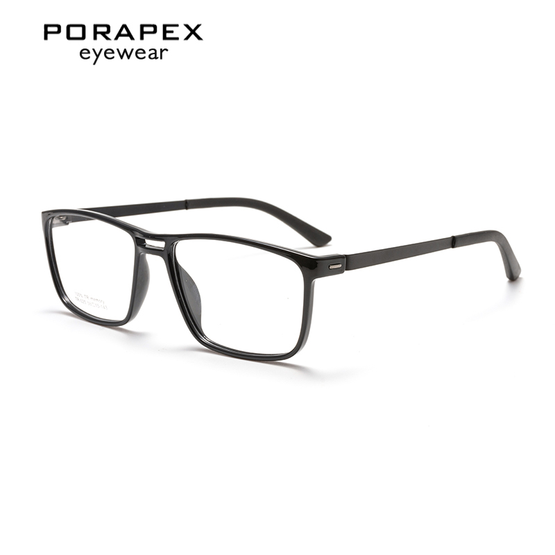 TR Memory Glasses Frame Men Spring Hinge Eyeglasses Frame Vintage Glasses Optical Spectacle Frame Myopia Mens Eyeglass Frame