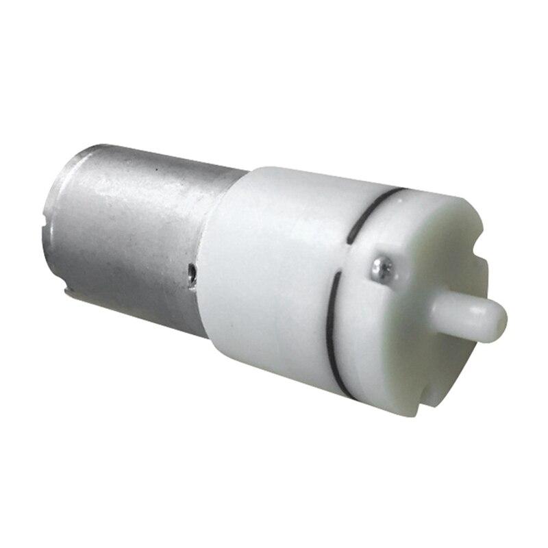 Adjustable Blood Pressure Oxygen Pump 3-12V 65A Aquarium Air Pump with Accessories for Fish Tank