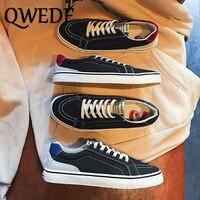 Новые осенние мужские туфли мужские повседневные парусиновые туфли модные легкие кроссовки на шнуровке дышащая мужская обувь на плоской п...