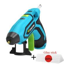 Youpin Rechargable Melt Glue Guns Kits with 10/20 Glue Sticks Tonfon Original 3.6V Cordless Hot Glue Guns USB