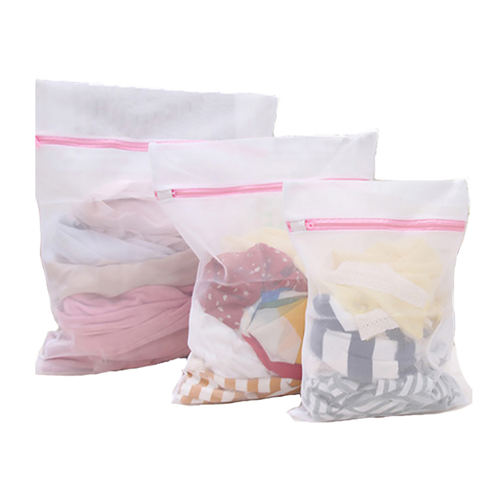 3Pcs/Set Thicken Laundry Bags For Washing Machines Mesh Bra Underwear Bag For Clothes Aid Laundry Saver Washing Lingerie Protect