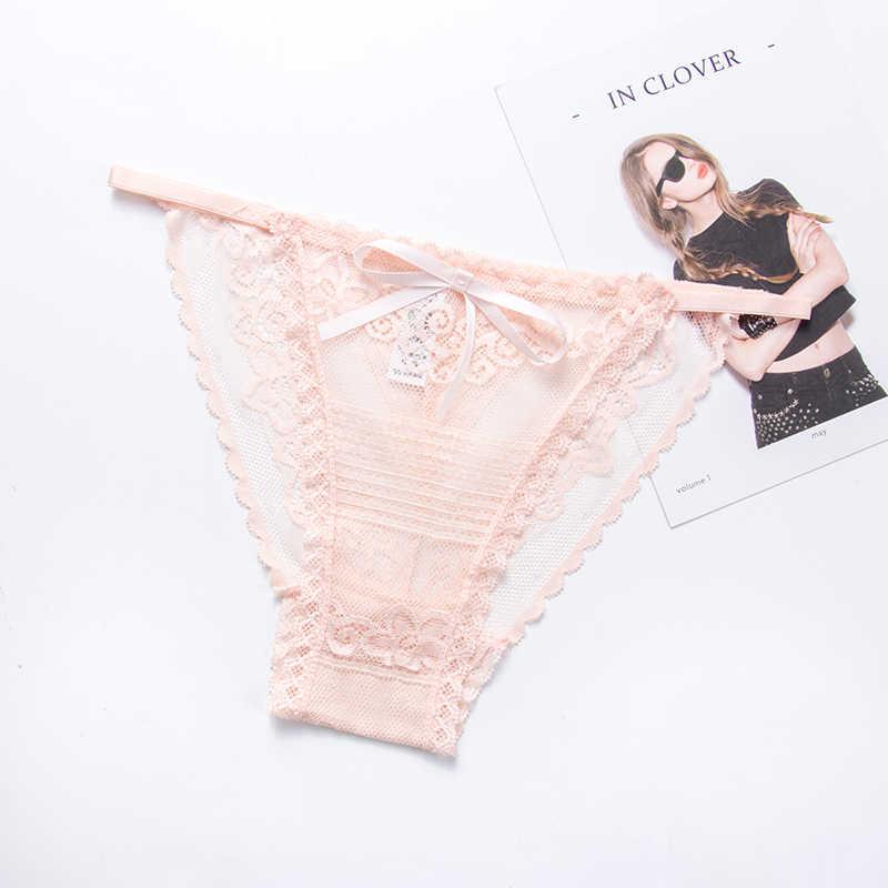 Sexy Kanten Slipje Vrouwen Ondergoed Slips Voor Meisjes Laagbouw Bikini G-string Vrouwelijke Lingerie Comfortabele Onderbroek M-L