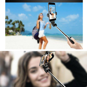 Image 3 - 新しい強化された 4 で 1 ワイヤレスbluetooth selfieスティックユニバーサル拡張可能な三脚とリモートシャッターDU55