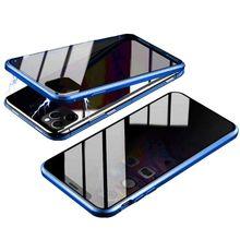 Защитный чехол для телефона с защитой от полостей, прочный прозрачный металлический бампер из закаленного стекла, чехол для iPhone 11, для iPhone 11 Pro Max