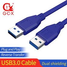 Super Speed Male to Male USB to USB 3.0 Data Cable Male to Female USB Cable Extension Cord for Computer PC 1m 1.5m 3m 5m usb 2 0 male to female usb extender cord cable 1 5m 3m 5m 2019 wire super speed data sync extension cable for pc laptop keyboard