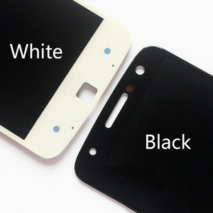 Image 4 - Original AMOLED Für Motorola Moto Z Droid XT1650 LCD Display Touchscreen Digitizer XT1650 01 XT1650 03 Bildschirm mit Burn Schatten