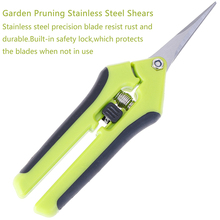 Garden Pruning Shears Picking-Scissors Branches Fruit Trim Weed Stainless-Steel Potted