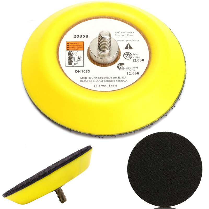 3 Inch Sticky Backing Pad Napping Hook And Loop Sanding Disc Pad Polishing Sander Backer Plate Electric Grinder Rotary Tool