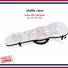 violin case bag accessories Ceramic white Violin box carbon fiber fiberglass backpack 1/4 1/2 4/4 3/4 parts