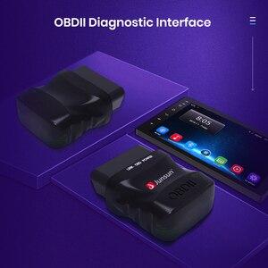 Автомобильный сканер mini ELM327 Bluetooth OBD2 V2.1 адаптер автомобильный диагностический инструмент для сканирования Junsun DVD