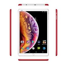 10,1 дюймовый планшетный ПК Android 7,0, 3g, четыре ядра, 4 ГБ, 64 ГБ, Google Play, 1,5 ГГц, две sim-карты, поддержка gps, OTG, Wi-Fi, Bluetooth, красный