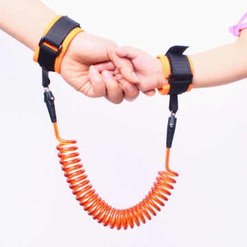 By DHL 100pcs Toddler Baby Kids Safety Harness Child Leash Anti Lost Wrist Link Traction Rope